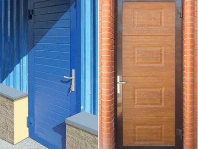 Дверь гаражная DoorHan ширина 800 мм высота 1900 мм